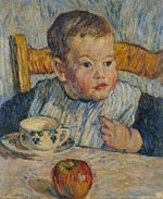 Paris. A Boy with an Apple. 1908