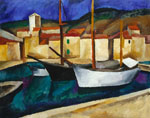 Cassis. Ships. 1913