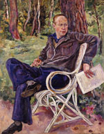 Portrait of S.Prokofiev. 1934